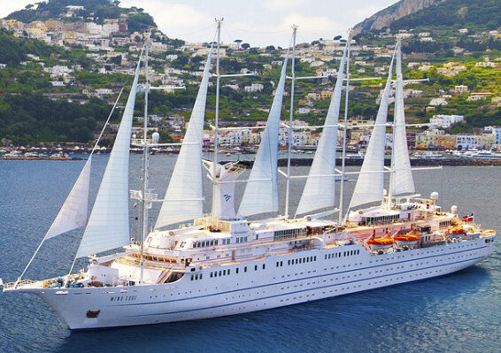Windstar Cruises i Middelhavet