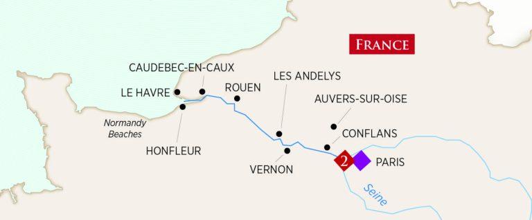 Seine floden i Frankrig