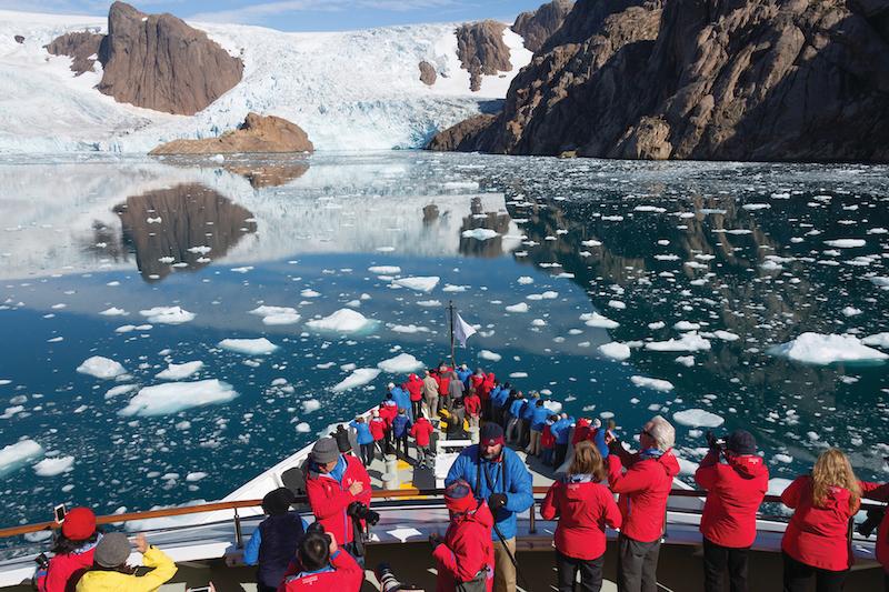 Silversea på Grønland