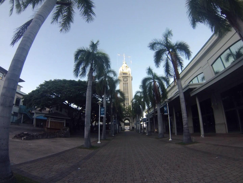 Honolulu cruise port