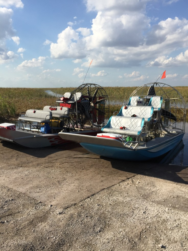 Everglade airboats