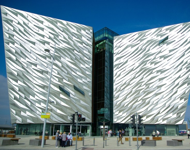 Titanic Belfast, the world's largest Titanic exhibition.