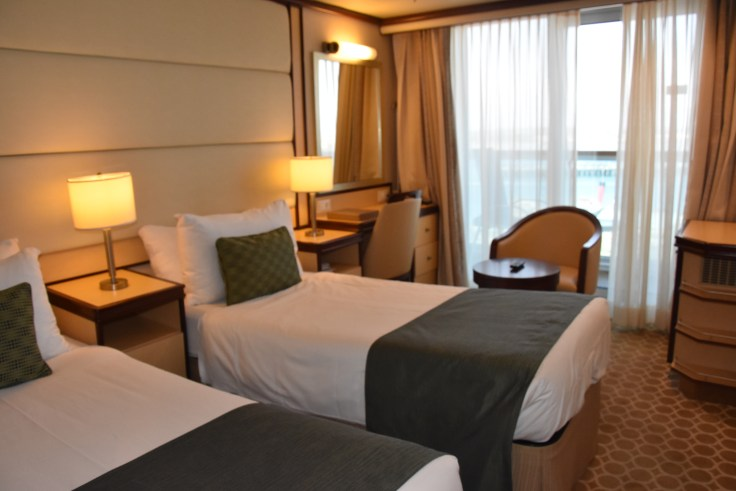Royal Princess bedroom
