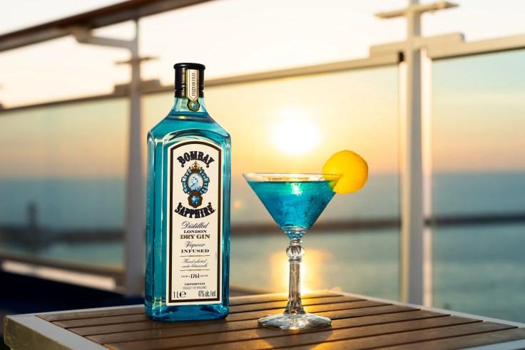Sapphire Princess cocktail 1