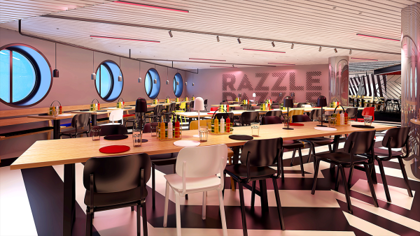 Razzle dazzle restaurant virgin voyages