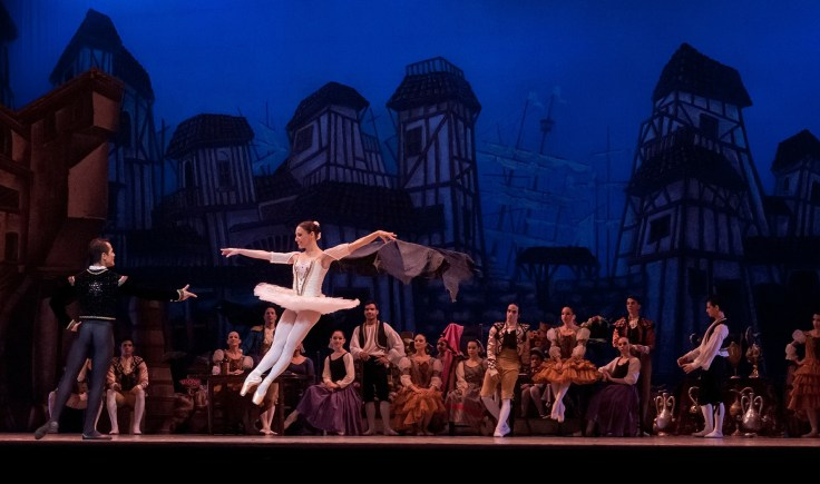 Moscow is famous for being the home of the Bolsoi Ballet