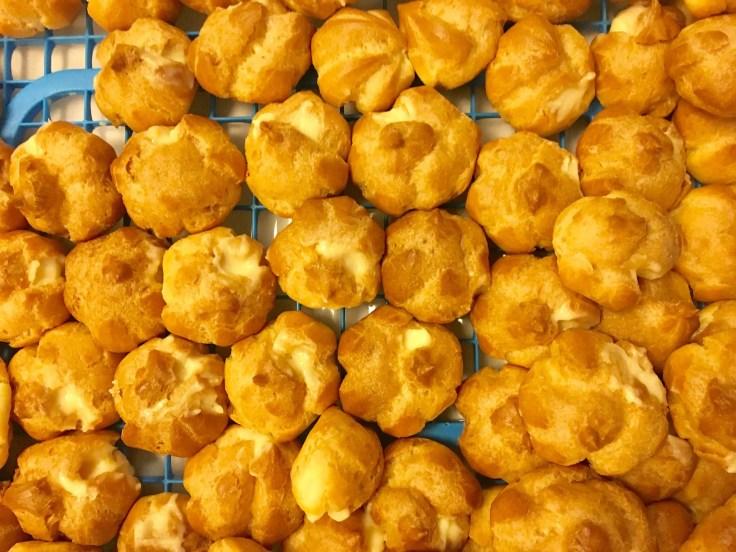 The sweet snack of Pirozhki