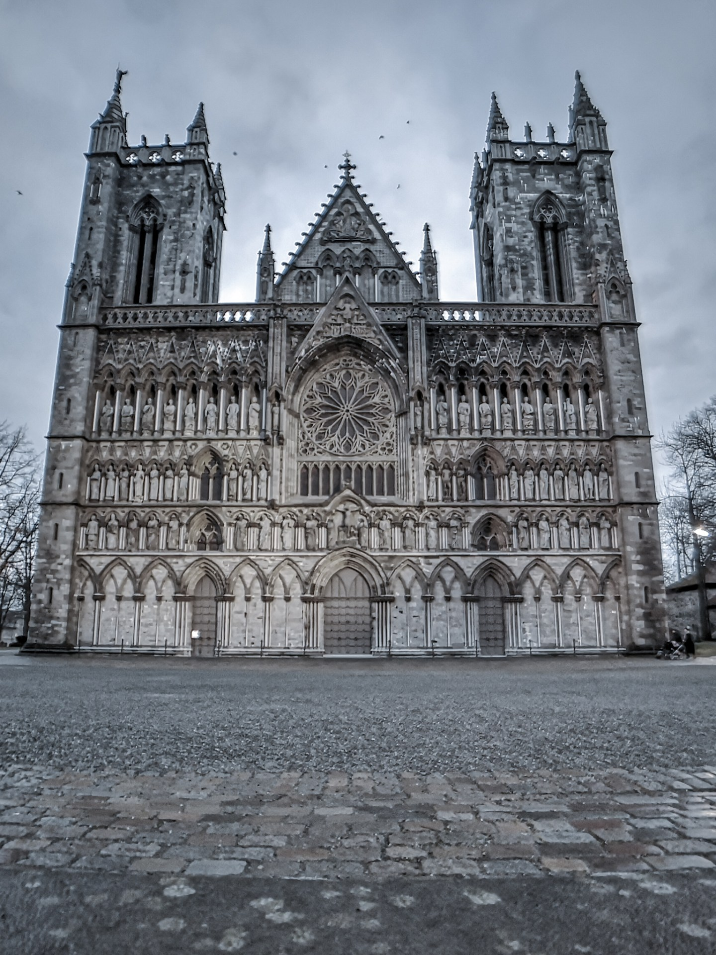 the magnificent cathedral Nidarosdomen