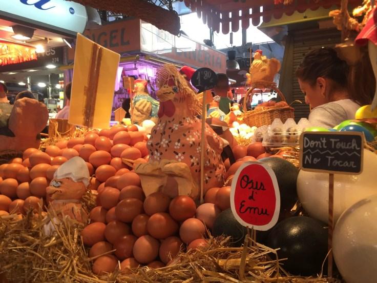 eggs La Boqueria