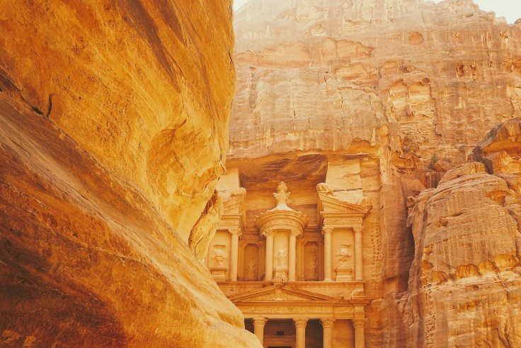 The Treasury at Petra destination 2019