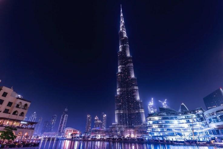 Burj Khakifa Dubai cruise destination 2019