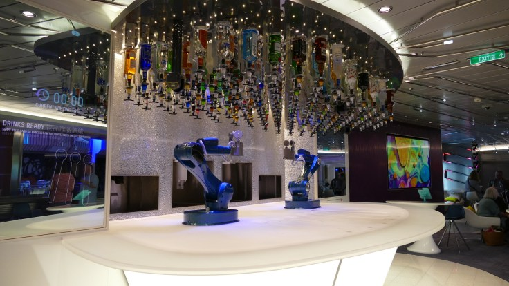 Bionic Bar Royal Caribbean Quantum of the Seas