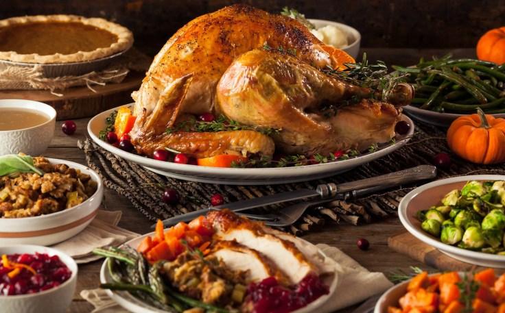 Celebrity Cruises Thanksgiving dinner