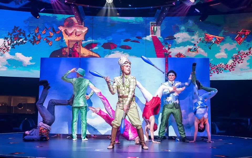 cirque du soleil msc cruises