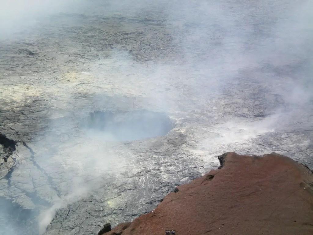 volcano crater Hawaii