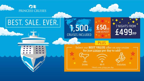 princess cruises best sale ever