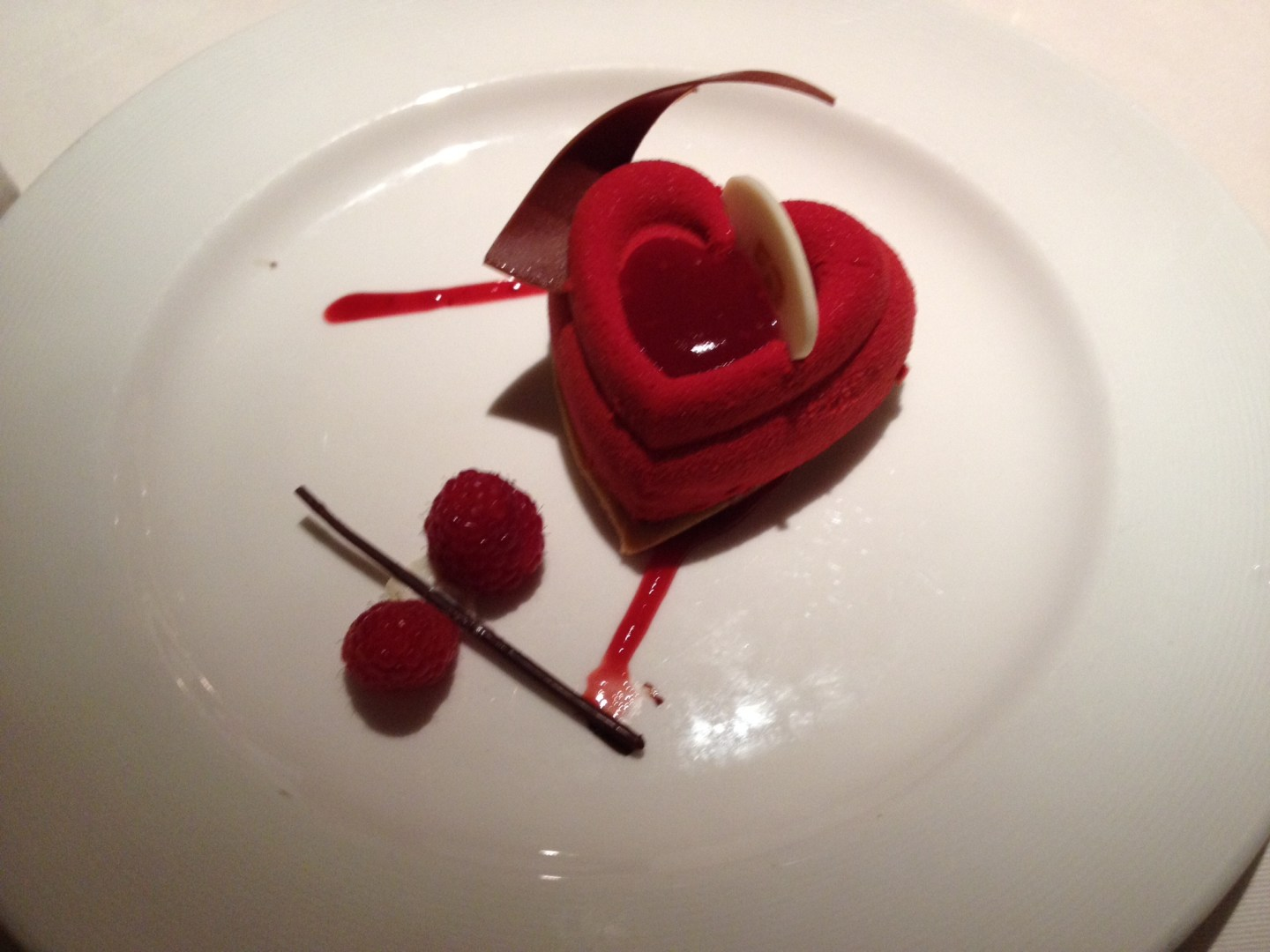 Princess Cruises Chocolate Journeys dessert