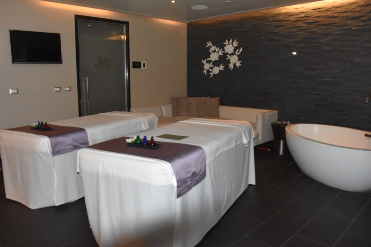 Princess Cruises Lotus Spa massages
