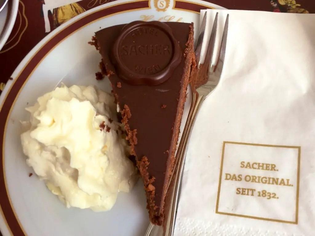 Sacher Torte in Vienna