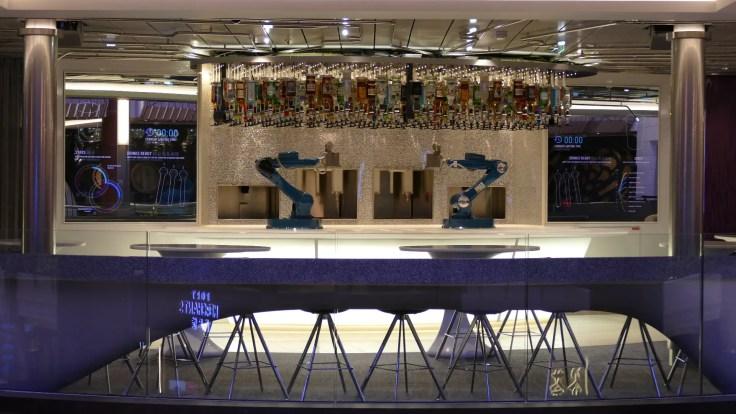 Bionic Bar on Royal Caribbean cruise ship