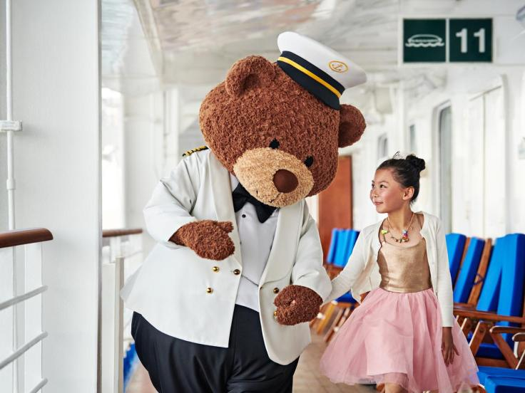 stanley the bear princess cruises for families