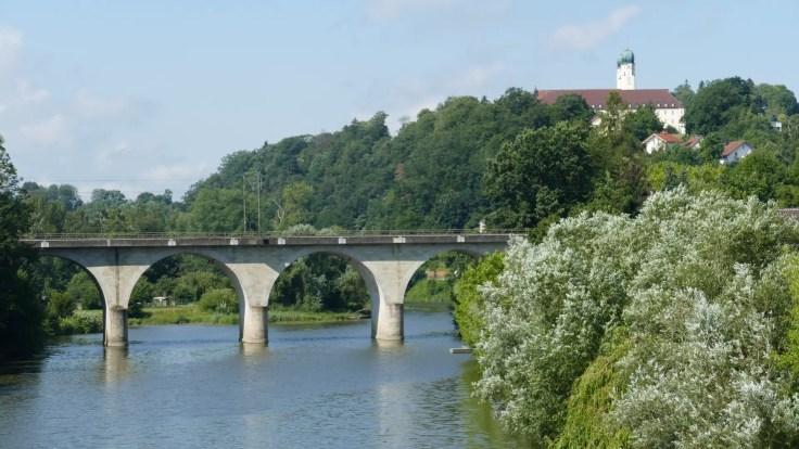 Vilshofen bridge