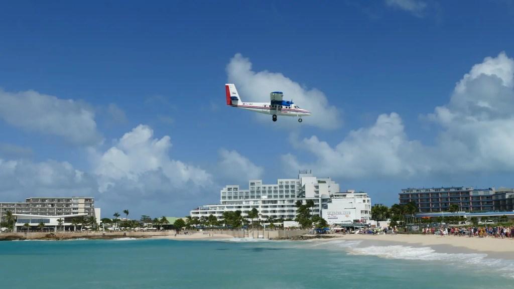 Airplane Beach St Maarten