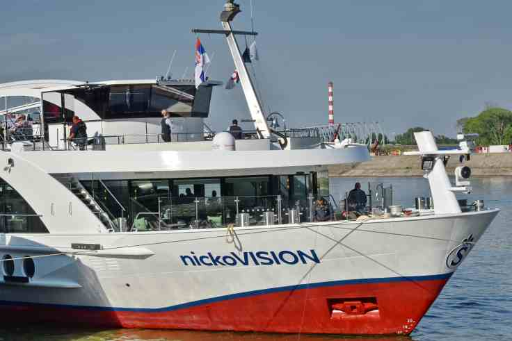 nicko vision river cruise ship first after covid-19