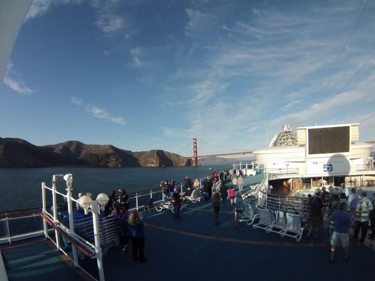 San Francisco cruise Golden Gate Bridge