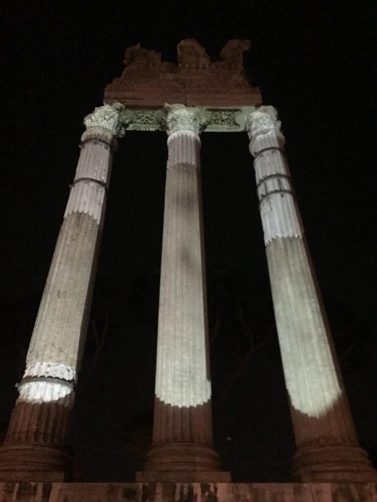 Roman Forum Light Show viaggio nei fori