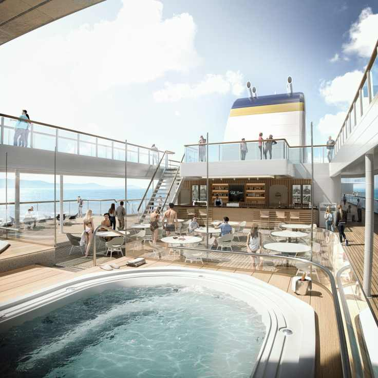 Havila Voyages deck