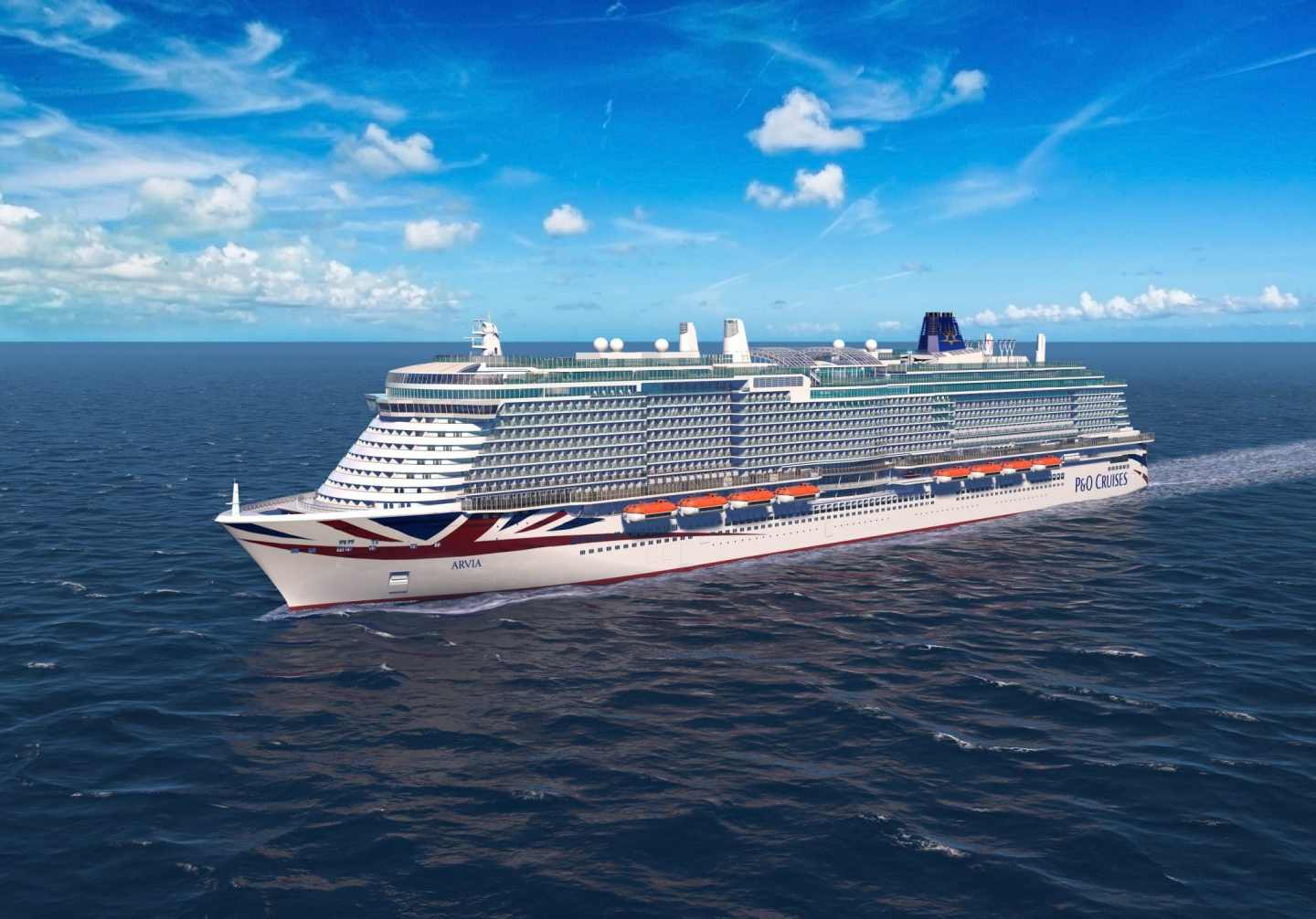 P&O Cruises ships by age Arvia is the newest