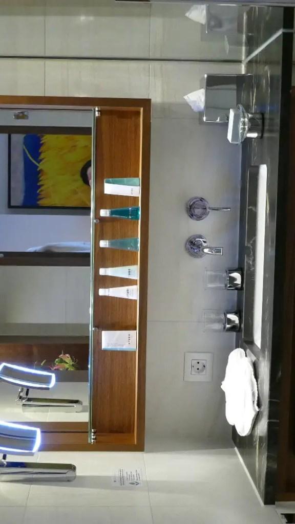 AmaMagna balcony bathroom