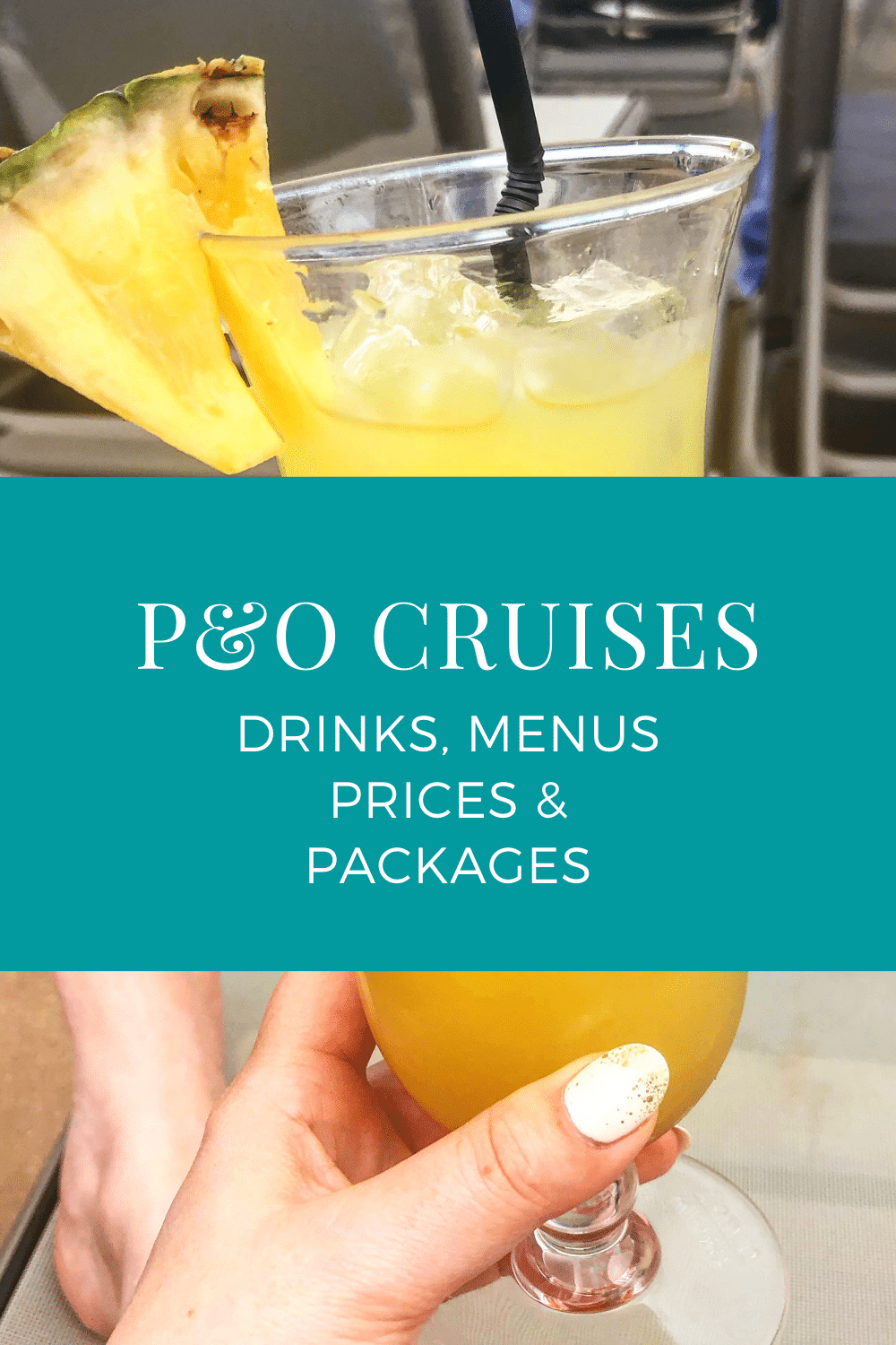 A complete guide to P&O drinks menus and prices. Is the drinks package worth it? Take a look at the options to help you budget for your cruise