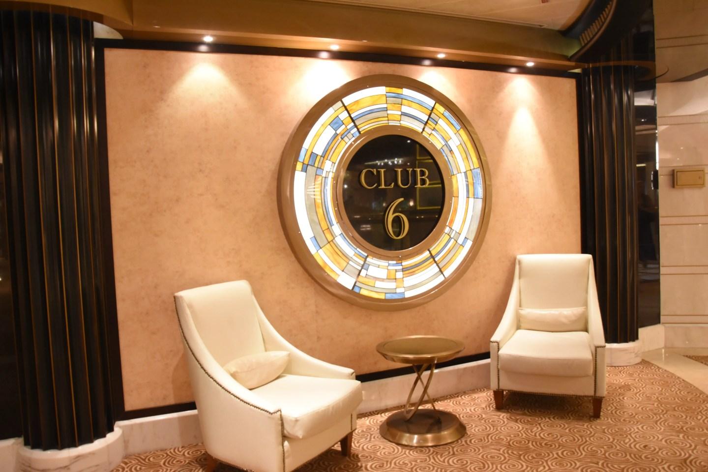 free things to do on Regal Princess club 6 nightclub