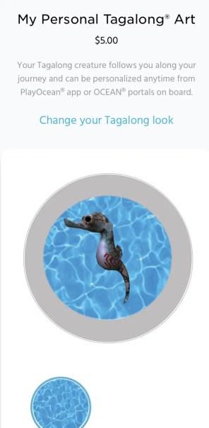 Personal tagalong art Ocean Medallion