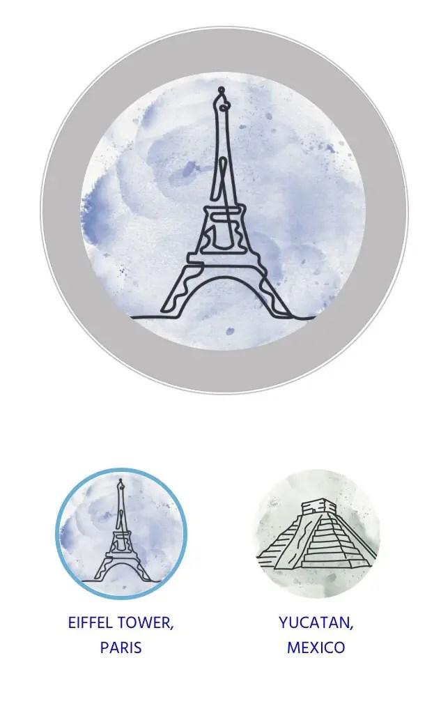 Ocean Medallion landmark designs
