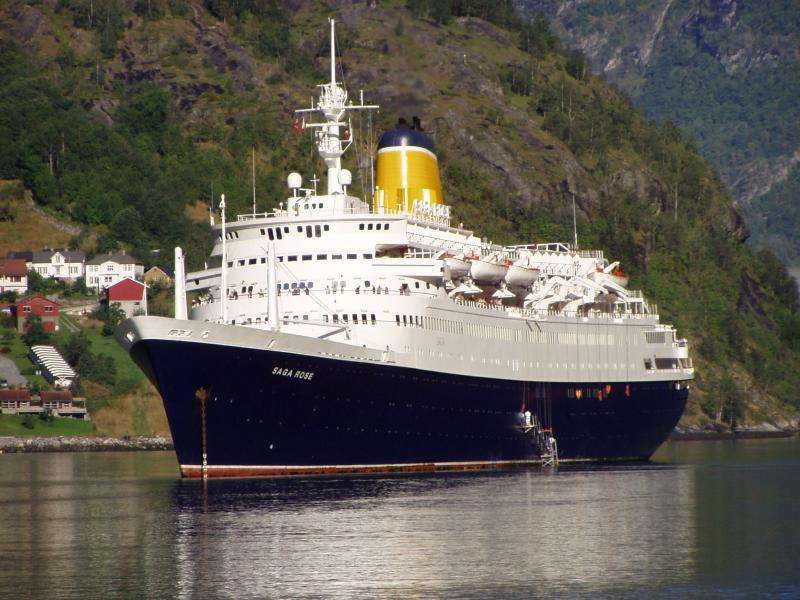 Cruise History Classic liner makes final world cruise