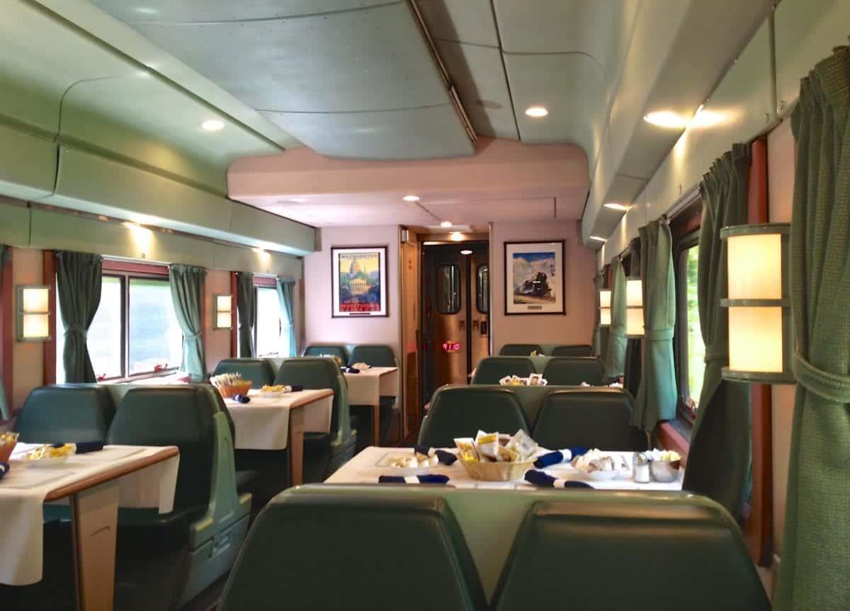 Amtrak Overnight Train Trip Between Florida And New York