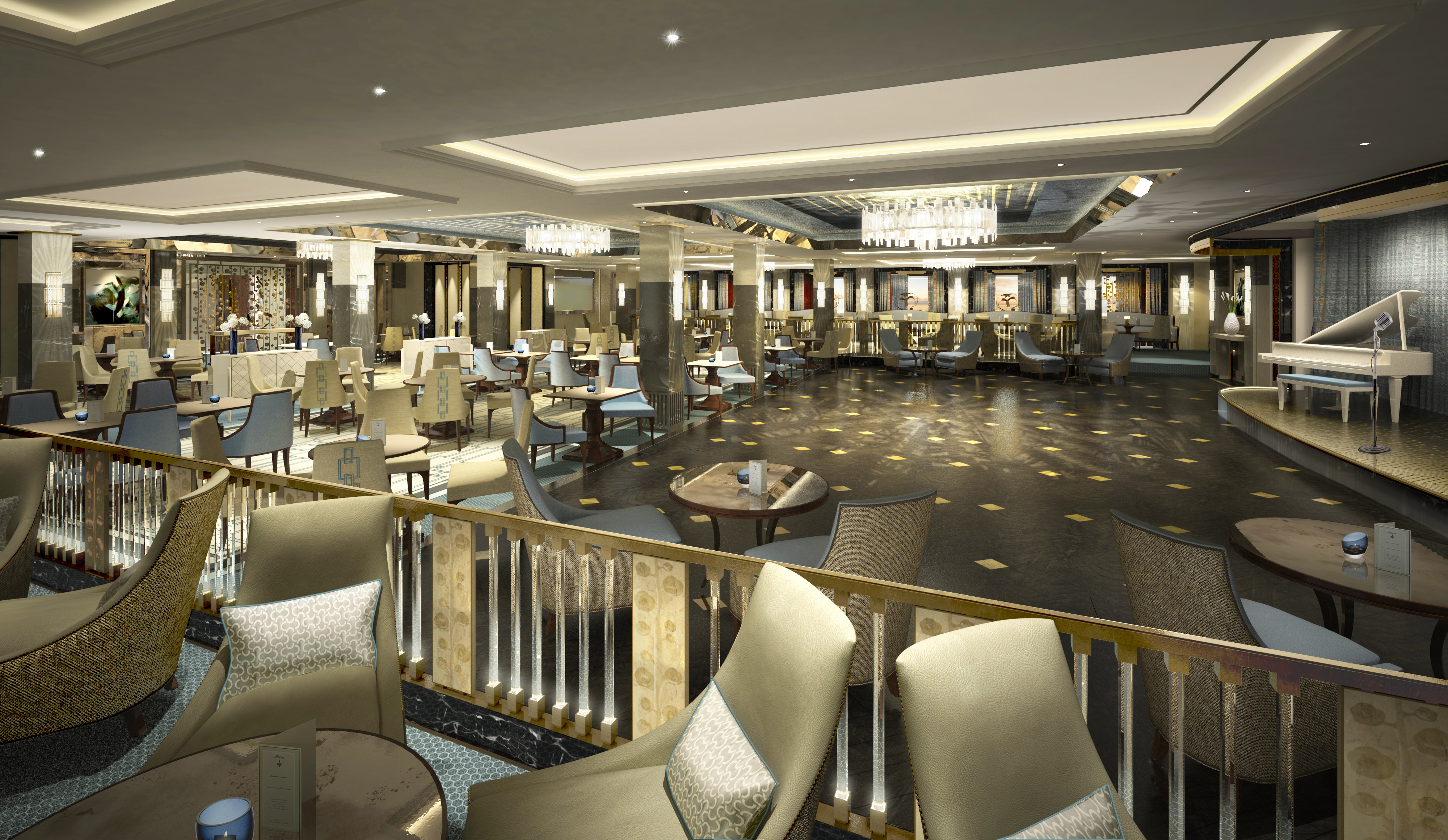 Take A Look Inside PO Cruises Britannia  NEW IMAGES