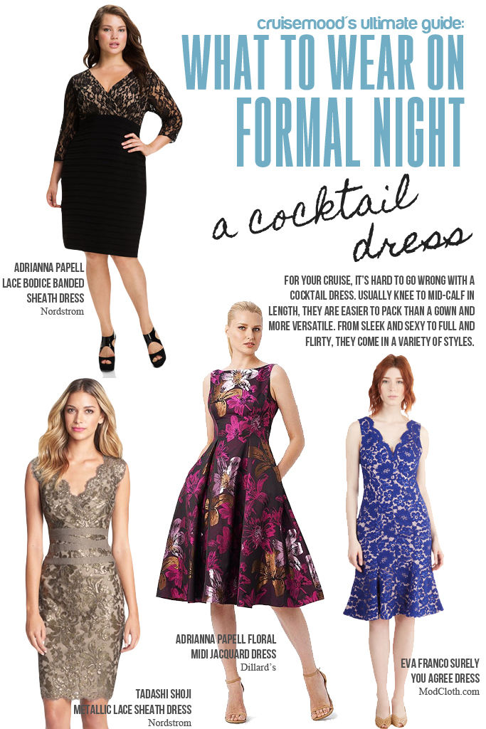 Evening Gowns for Cruises