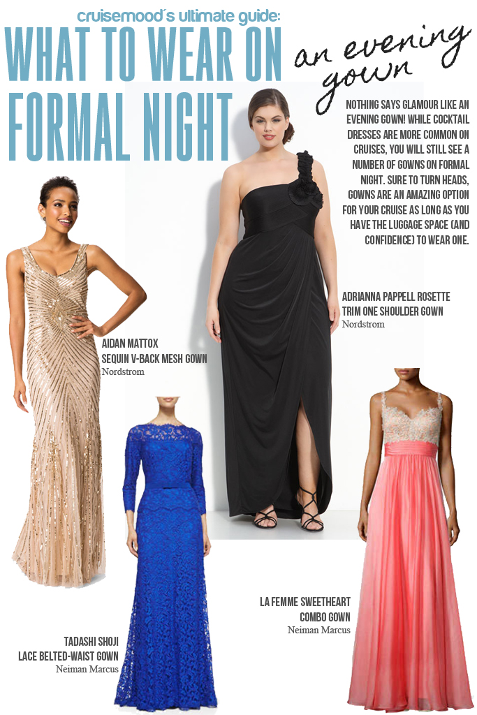 What to Wear on Formal Night on Your Cruise: Common styles, packing considerations, and how to find that cruise formal night dress on a budget!