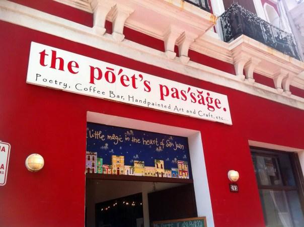 The Poet's Passage Cafe San Juan PR