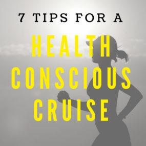 health conscious cruise - running