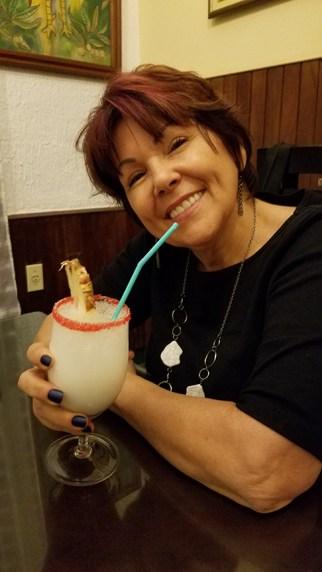 Pina Colada at El Farallon