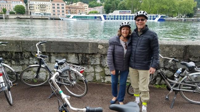 Bike tour - Check out those pants!