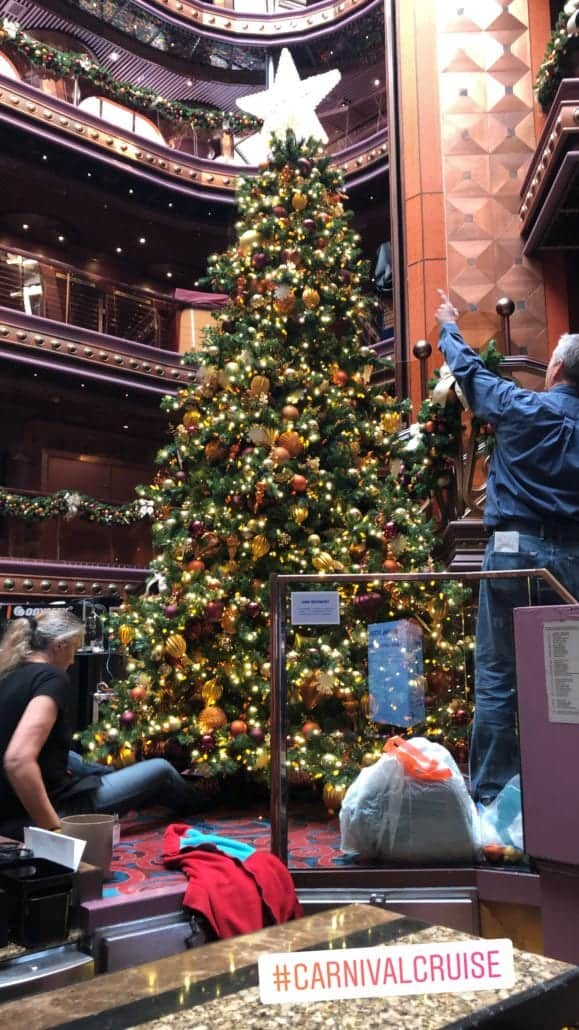 Christmas Decorations Ship Cruise Carnival