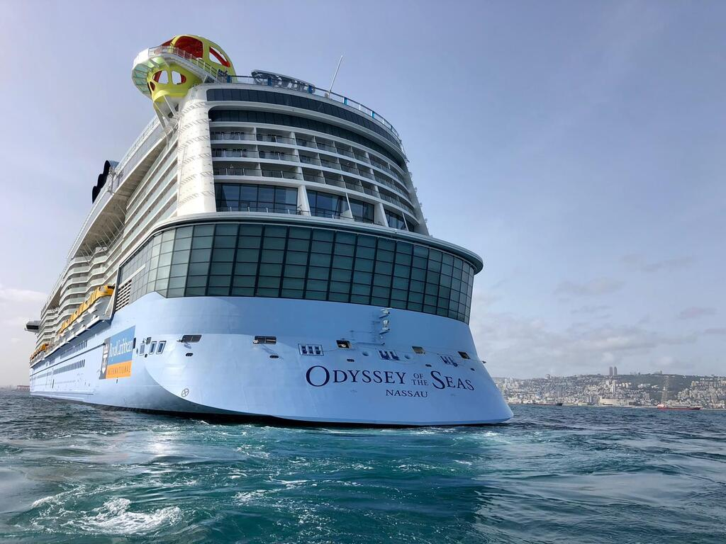 Odyssey of the Seas: A Crew Member fell into the sea while crossing to Israel