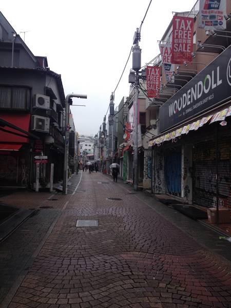 Harajuku Takeshite Shopping Street
