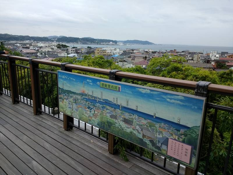 View of Kamakura from Temple Lookout